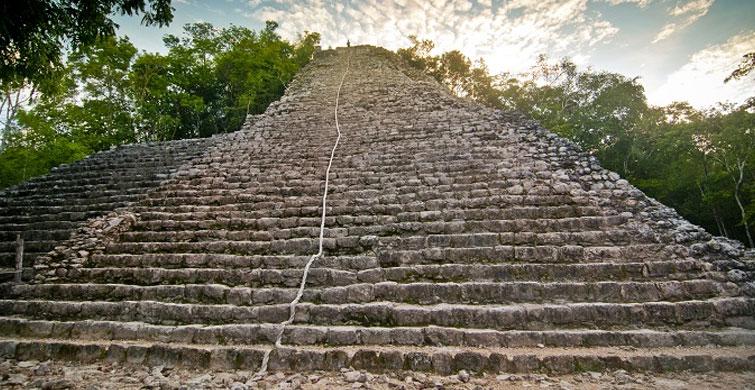 Mayaların En Yüksek Piramidi: Nohoch Mul