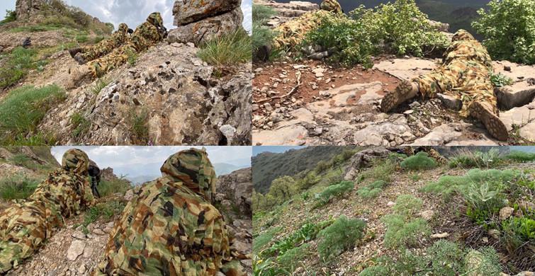 MSB, Irak'ın Kuzeyindeki Operasyonlara Dair Fotoğraf Paylaştı
