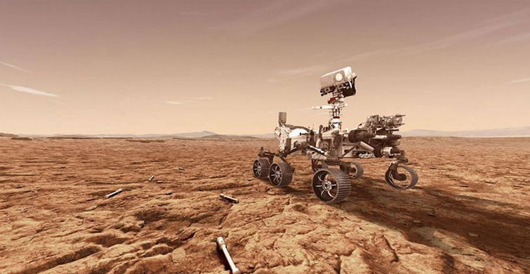 Perseverance Mars'taki İniş Bölgesinin Panoramasını Kayda Aldı