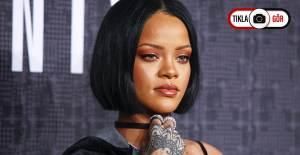 Rihanna'nın Yüzündeki Morluklar Dikkat Çekti