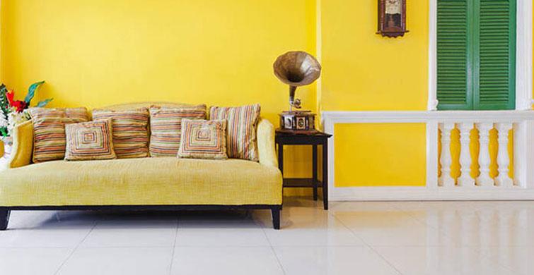 Ev Dekorasyonunda Sarı Rengin Enerjisine Sarılın