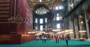 Ayasofya Camii'nden İlk Karaler