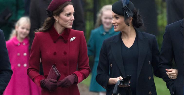 Kate Middleton ve Meghan Markle'ın Barıştıran Sebep Şaşırttı!