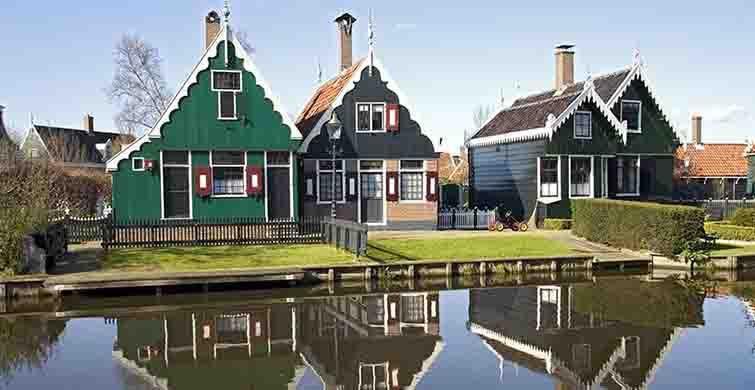 Yel Değirmenlerinin Güzel Diyarı: Zaanse Schans