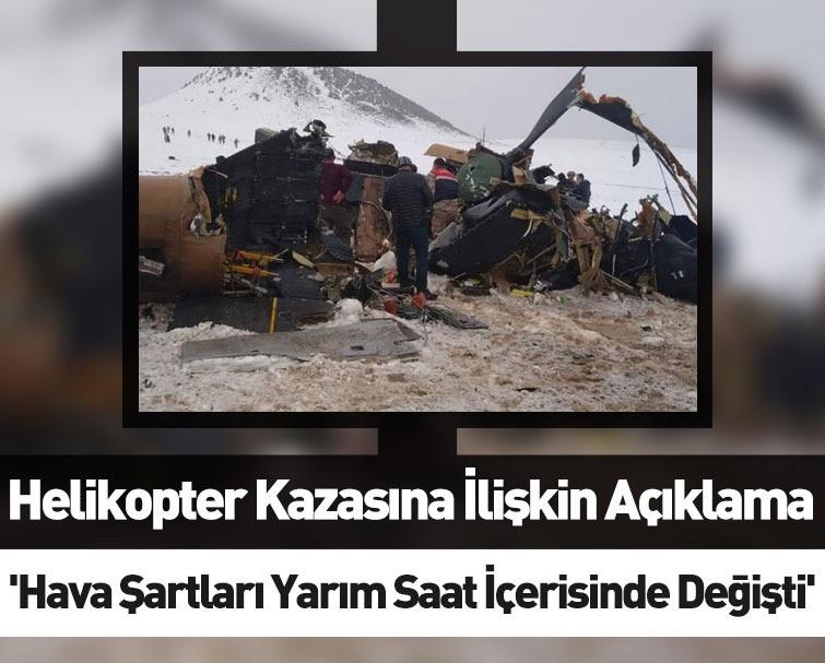 Bitlis Belediye Başkanı Helikopter Kazası Hakkında Açıklama Yaptı