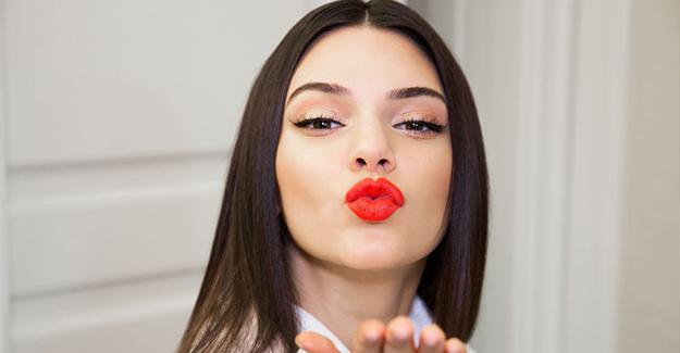 Kendall Jenner'i Makyajsız Görenler Tanıyamadı! - 1