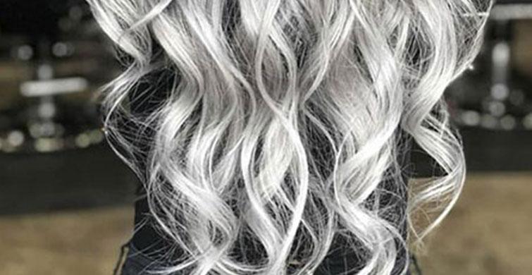 Saçta Gri Renk Sevenler İçin En Trend Öneriler - 1