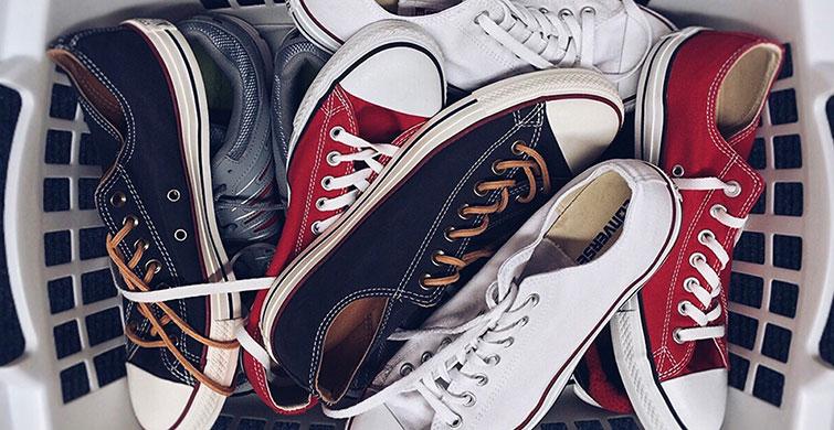 Spor Ayakkabılarınızı Bir De Böyle Temizleyin! - 1