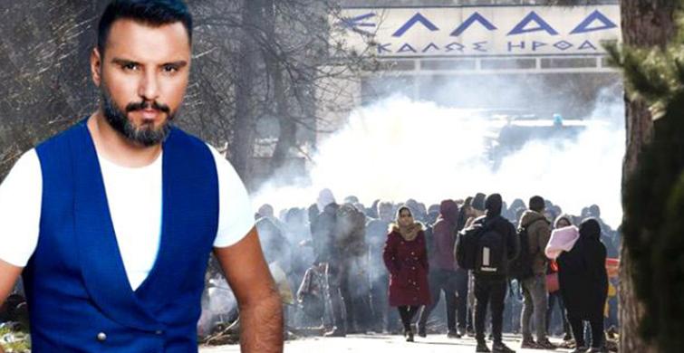 Yunanistan'ın Mültecilere Gaz Bombası Atmasına Alişan Tepki Gösterdi - 1