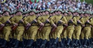 Belarus'ta 9 Mayıs Zafer Günü'nde Açık Tören - 1