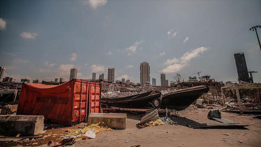 NASA Beyrut'ta Meydana Gelen Patlamanın Uydu Görüntülerini Yayınladı - 2