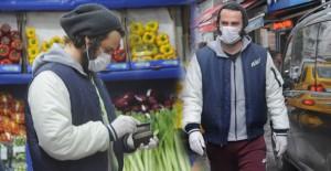 Birkan Sokullu Coronavirüse Karşı Önlem Alarak Alışverişe Çıktı - 1