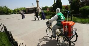 'Bisikletli Koronavirüs Timleri' Atık Toplamak İçin Hareket Geçti! - 1