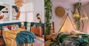 Renkli Yatak Odası Dekorasyonları - 1