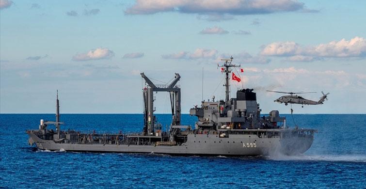 Türk Deniz Kuvvetleri Akdeniz'de Tatbikat Yaptı - 1