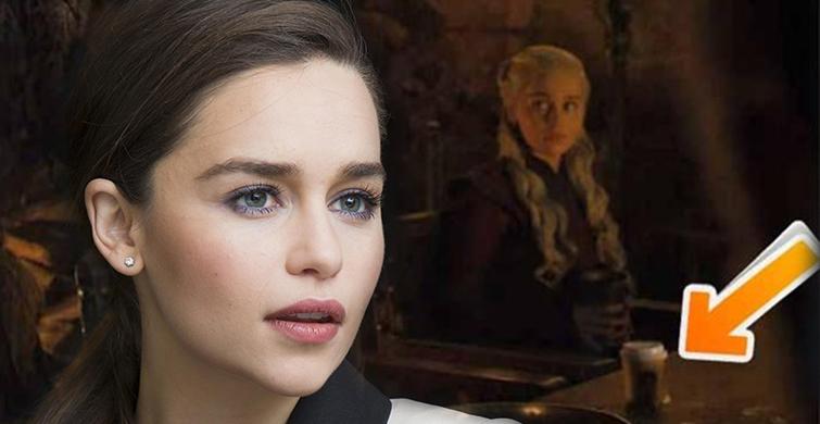 Emilia Clarke, Game of Thrones'taki Bardağın Sahibini Açıkladı - 1