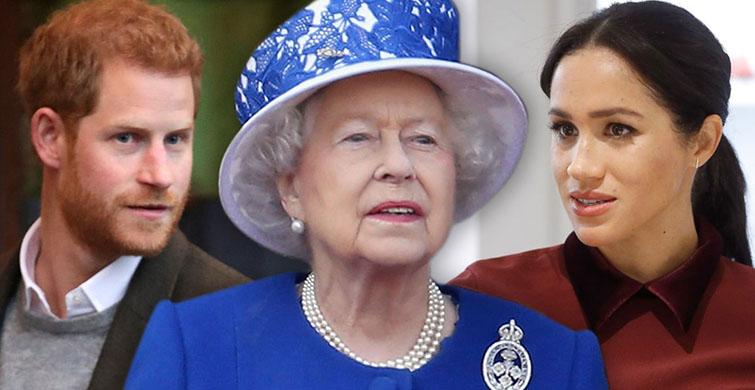 Sussex Royal Adını Alan Kraliçe II. Elizabeth'e Prens Harry ve Meghan Markle'dan Tepki - 1