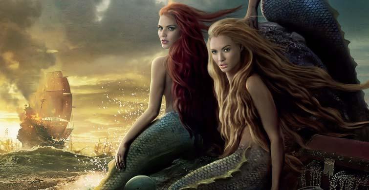 Deniz Kızına Benzeyen Yaratık Herkese Korku Dolu Anlar Yaşattı - 1