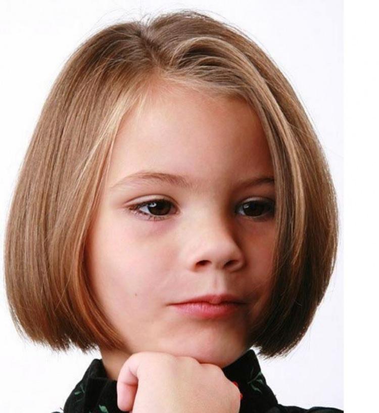 Kız Çocukları İçin Kısa Saç Modelleri - 1