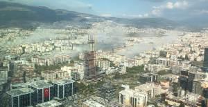 İzmir'deki Deprem Sonrası Bulut Görüntüleri - 1