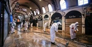 Açılmaya Hazırlanan Kapalı Çarşı Dezenfekte Edildi - 1