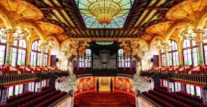 Katalan Rönesansı'nın Sembolü: Katalan Müzik Sarayı! - 1