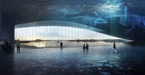Norveç'te Sıra Dışı Bir Balina Gözlem Evi İnşa Ediliyor - 1