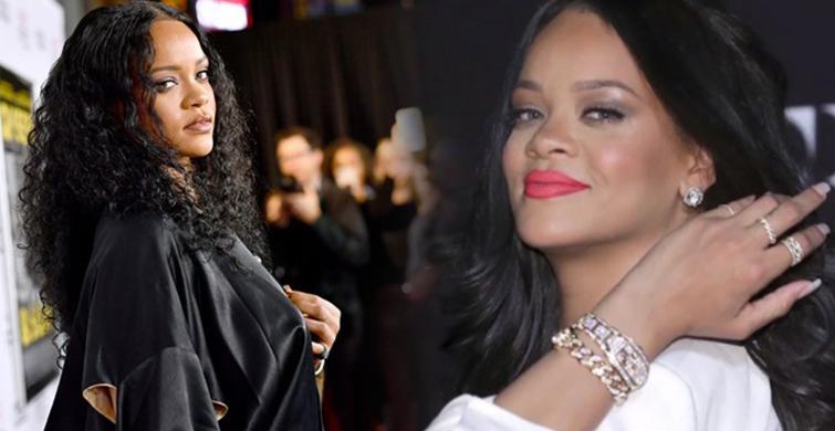 Rihanna, Queen & Slim Filminin Galasına Kıyafetiyle Damga Vurdu - 1