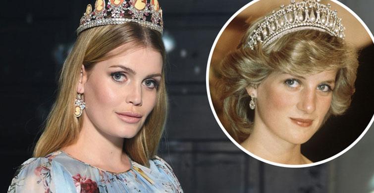 Kitty Spencer ve Teyzesi Prenses Diana Arasındaki Dikkat Çekici Benzerlik - 1