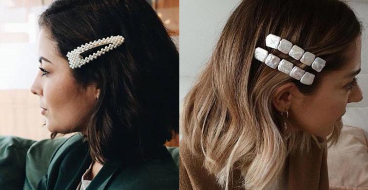 Trend Olan Saç Tokaları - 1