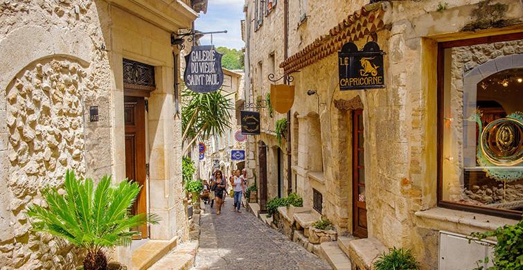 Güney Fransa'nın En Güzellerinden: Saint Paul De Vence - 1