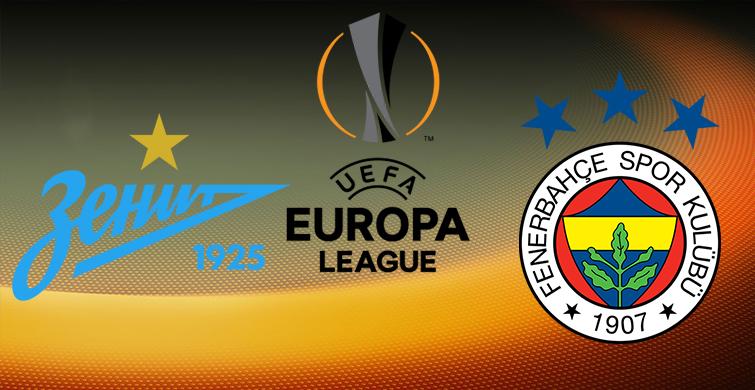 Zenit - Fenerbahçe Maçı Saat Kaçta Ne Zaman - 1