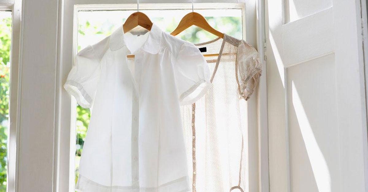 sararan giysiler nasıl beyazlatılır?