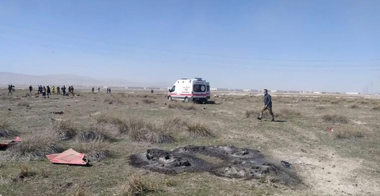 Konya'da Askeri Uçak Düştü!4646585