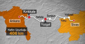 Ankara-Sivas YHT Hattının Hizmete Açılacağı Tarih Belli Oldu