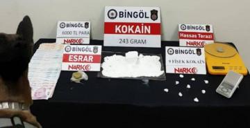 Bingöl'de Uyuşturucu Operasyonunda 4 Kişi Gözaltına Alındı