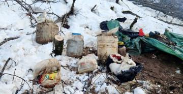 Bitlis'te Teröristlere Ait Malzemeler Ele Geçirildi!