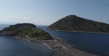 Bodrum'da Deniz Çekildi, Kral Yolu Ortaya Çıktı