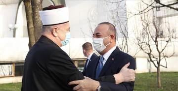 Çavuşoğlu Hırvatistan'daki Müslümanlarla Buluştu