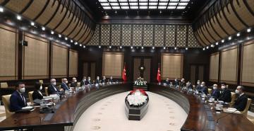Cumhurbaşkanlığı Külliyesi'nde Savunma Sanayii İcra Komitesi Toplantısı Gerçekleştirildi