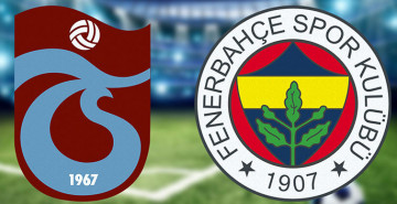 Dev Maç Sona Erdi! Trabzonspor 0-1 Fenerbahçe