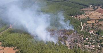 Fethiye'de Çıkan Orman Yangınına Müdahale Edildi