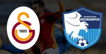 Galatasaray - Erzurumspor Maçı Belli oldu