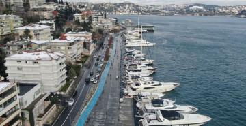 İstanbul Boğazı Tekne Ve Yat İşgalinde