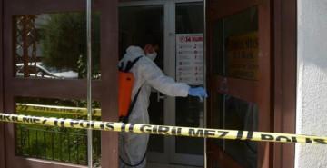 Kastamonu'da Bir Bina Karantina Altına Alındı