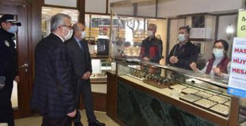 Keşan'da Vakalar Arttı, Kaymakam ve Belediye Başkanı Kontrole Çıktı