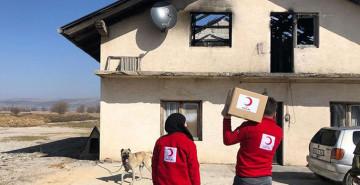 Kızılay, Bosna Hersek'te İhtiyaç Sahiplerine Yardım Etti