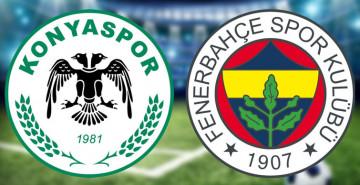 İlk Yarı Oynanıyor! Konyaspor 0-0 Fenerbahçe