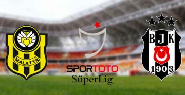 Malatyaspor 0-0 Beşiktaş İlk Yarı Sona Erdi!