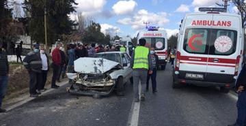 Muğla'da Servis Minibüsü Kazası: 6 Yaralı